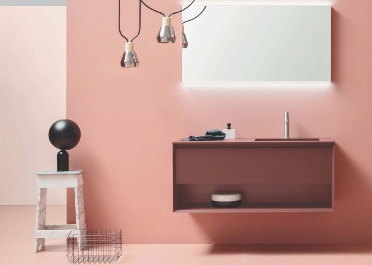 Mobile da bagno moderno in mdf collage vanity unit by sigrid