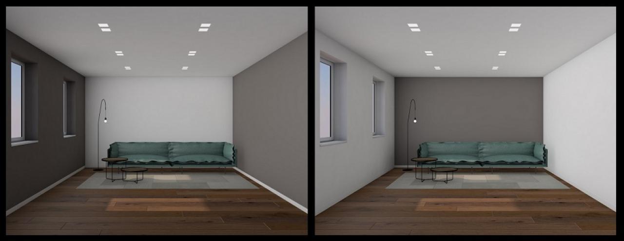 Tinteggiare le pareti interne della casa fratelli pellizzari for Colori moderni per pareti