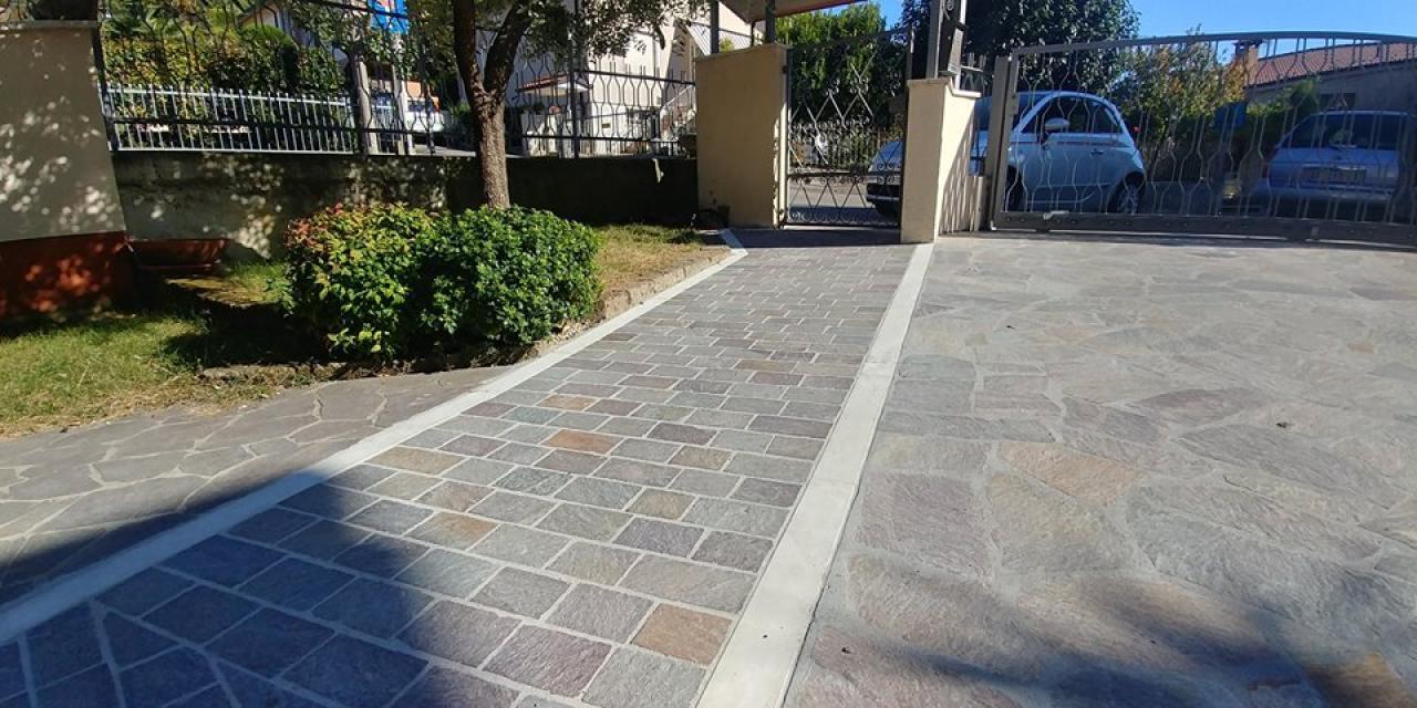 Ristrutturare una zona di pavimento esterno fratelli pellizzari - Asciugatura massetto per piastrelle ...