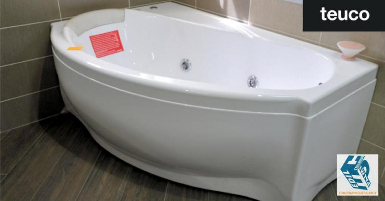 Vasca Da Bagno Teuco Prezzi : Vasca asimmetrica teuco fratelli pellizzari